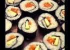 Surveiller sa ligne avec Génération Sushi  - Makis saumon-avocat