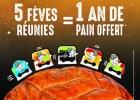 Un an de pains gratuits à Ange Boulangerie  - Jeu-concours éphiphanie