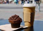 Un après-midi d'automne au Club Sandwich Café  - Café et muffin au Club