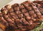 Un repas d'été chez Hippopotamus  - Copieuse pièce de boeuf grillée
