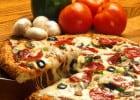Une Française championne mondiale de pizza  - Pizza sauce tomate, fromage et champignon