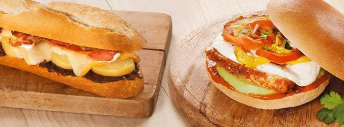 Sandwichs de l'hiver Pomme de Pain