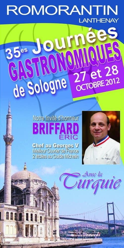Affiche des Journées Gastronomiques