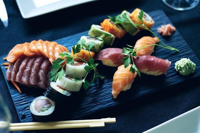 La cuisine japonaise à Paris