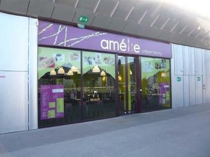 Devanture Amélie Crêpes Factory