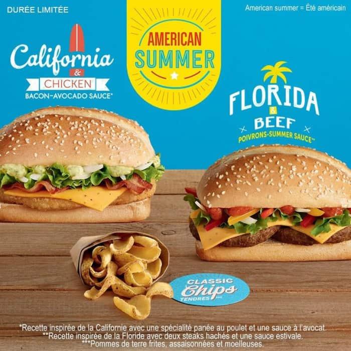 American Summer chez Mc Donald's