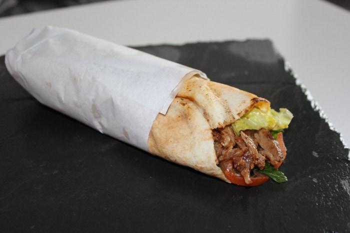 Shawarma du resto Ô Bey #takeawaychallenge
