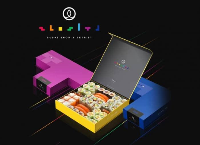 Avril 2019 à Sushi Shop : Tétris et lunch box du mois