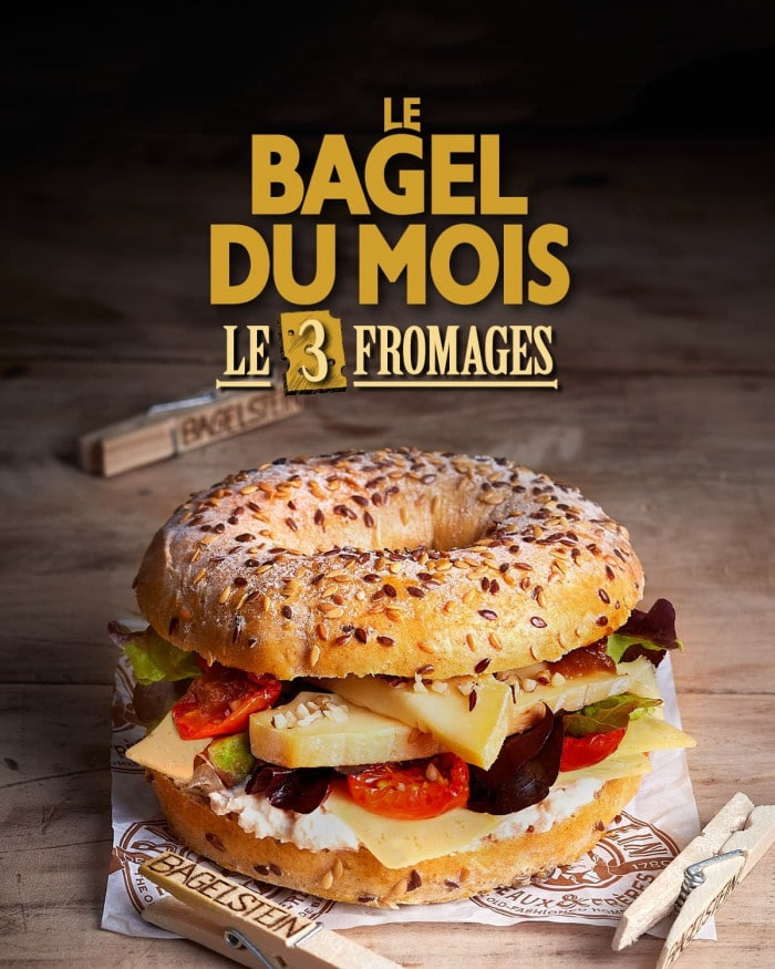 Bagel 3 fromages