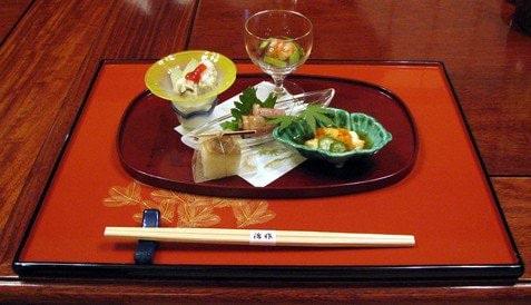 Plateau kaiseki - haute gastronomie