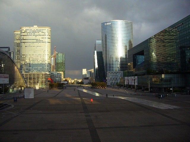 Quartier de La Défense à Paris