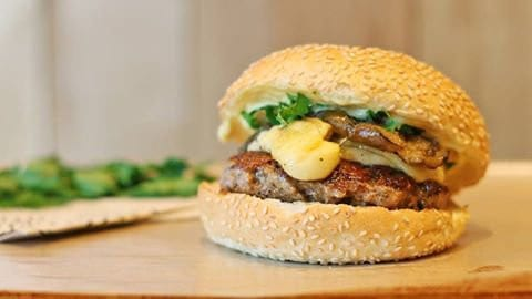 Burger gourmet Big Fernand