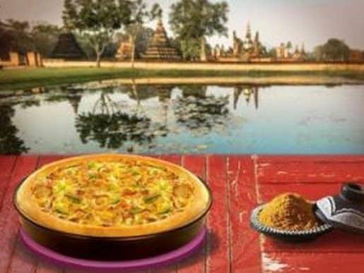 Bollywood Curry de Pizza Hut