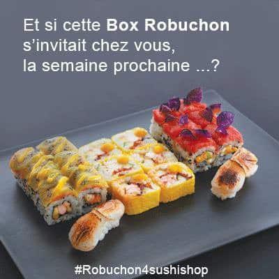 Créations Joël Robuchon pour Sushi Shop