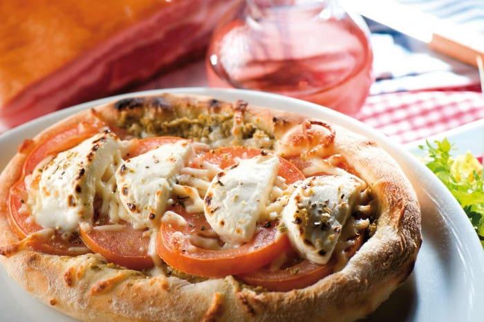 La pizza Bruschetta Pastorale