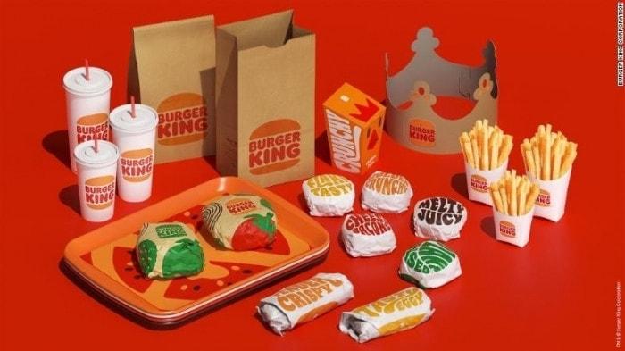 Nouvelle identité visuelle Burger King