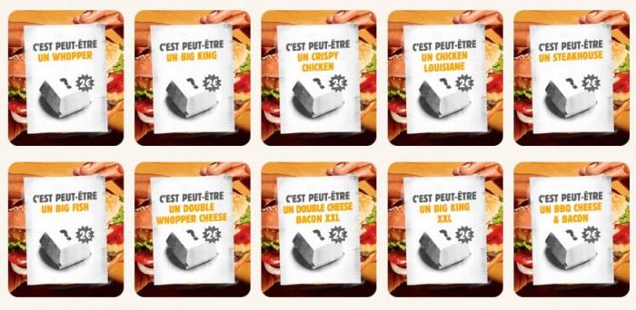 Les burgers mystères