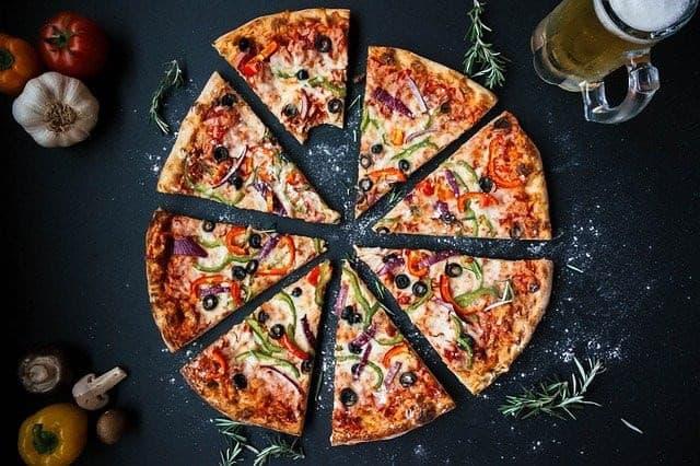Pizza insolite