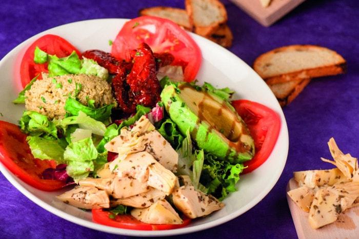 La salade végétarienne