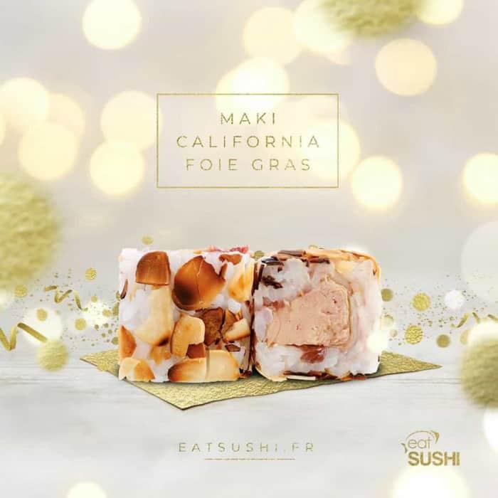 Maki California Foie Gras