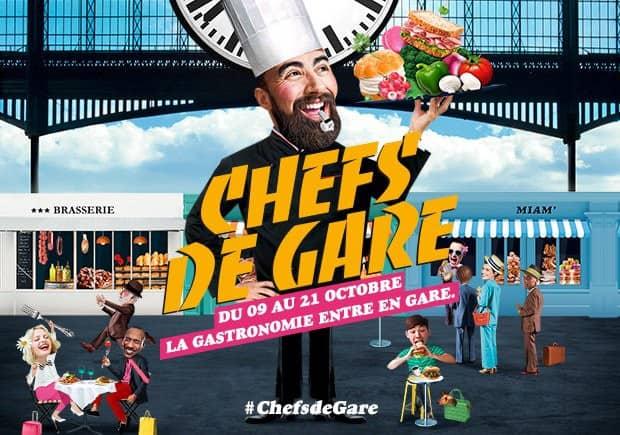Chefs de Gare : la 5e édition jusqu'au 21 octobre