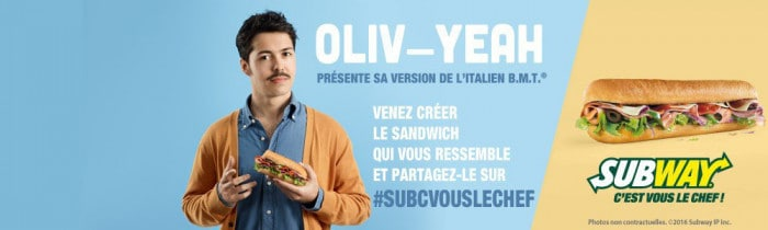 #SUBCVOUSLECHEF