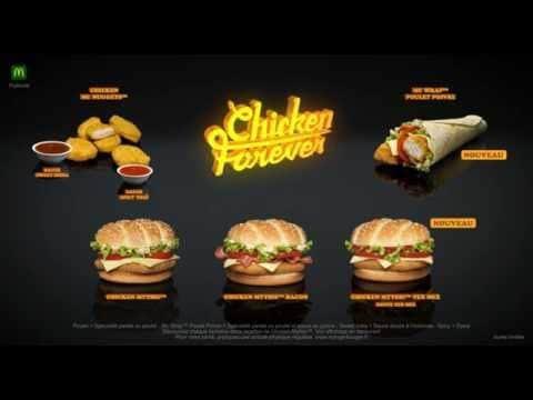 Chicken Forever de McDo