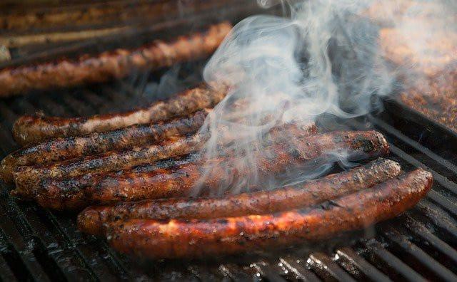 Merguez au barbecue