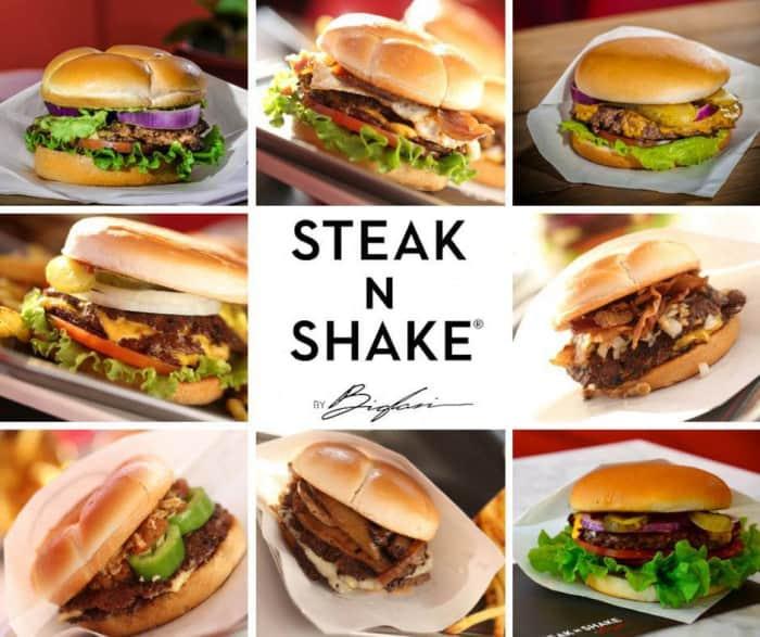 Burgers Steak'n Shake