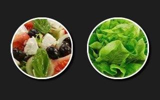 Légumes, laitue et fruits