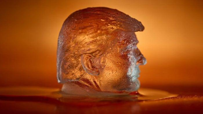 Glaçon Donald Trump