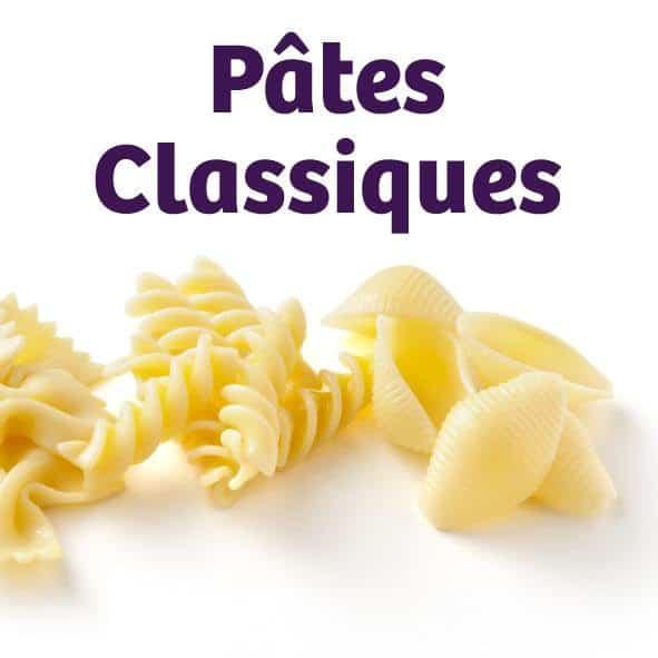 Des pâtes classiques