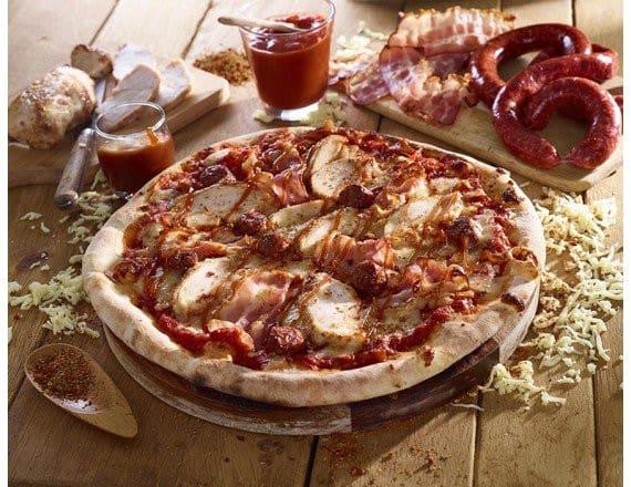 La pizza cannibale