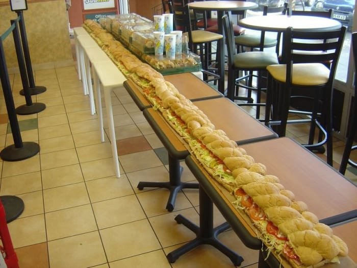Un méga sandwich