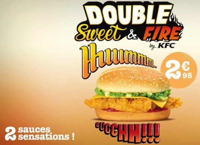Burger Double Sweet & Fire