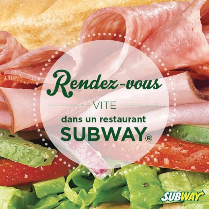 Publicité Subway