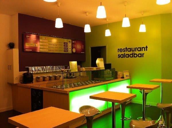 Restaurant Saladbar