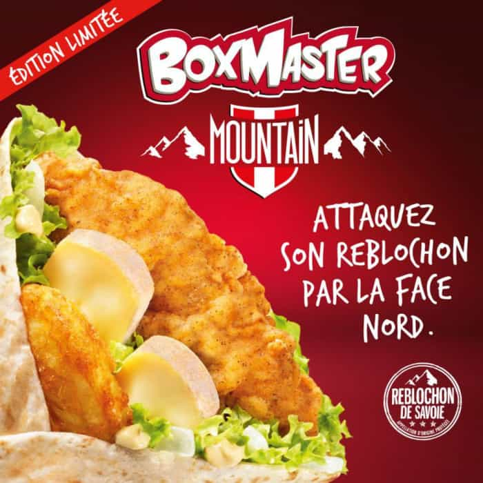 Le Boxmaster Mountain KFC
