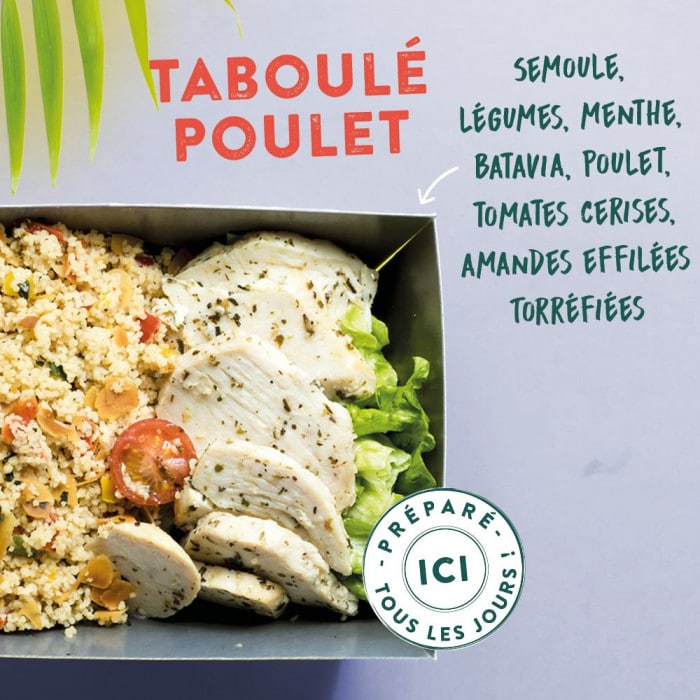 Le Taboulet poulet