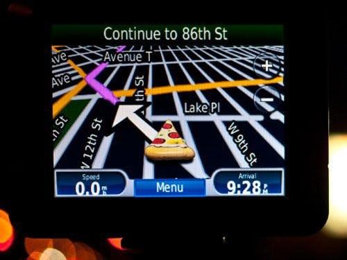 GPS fast-food