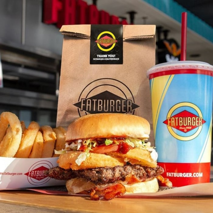 Menu Fatburger