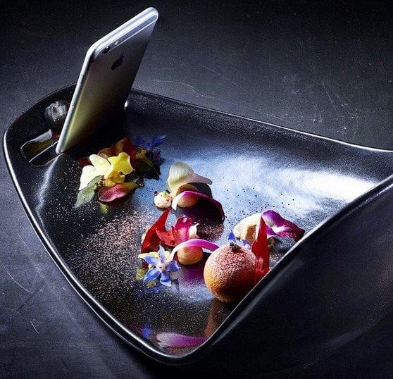 Plat créé par Meir Adoni pour Food-O-Graphy