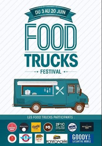 Affiche du festival des camions gourmets