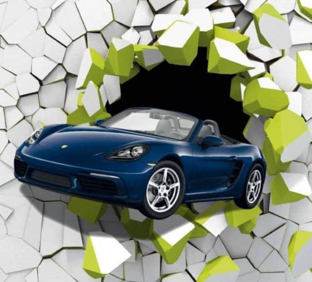 Grand Jeu Bistro Regent Porsche Boxter