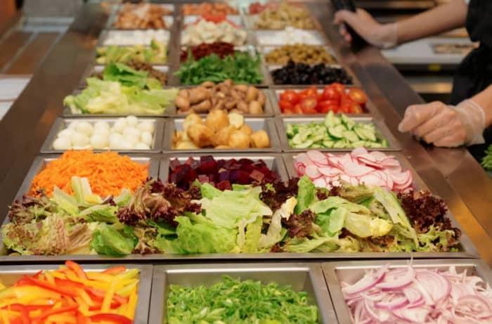 Le bar à salade