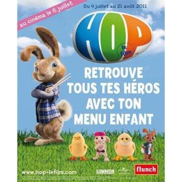 Affiche opération Hop chez Flunch