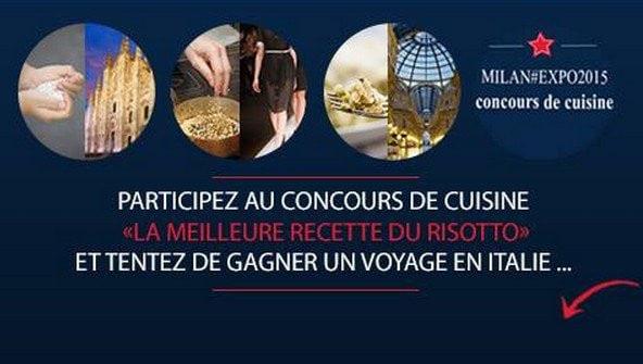 Affiche du concours Risotto