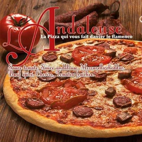 L'Andalouse, la nouvelle pizza de Speed Rabbit Pizza