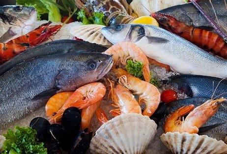Poissons, fruits de mer et coquillages