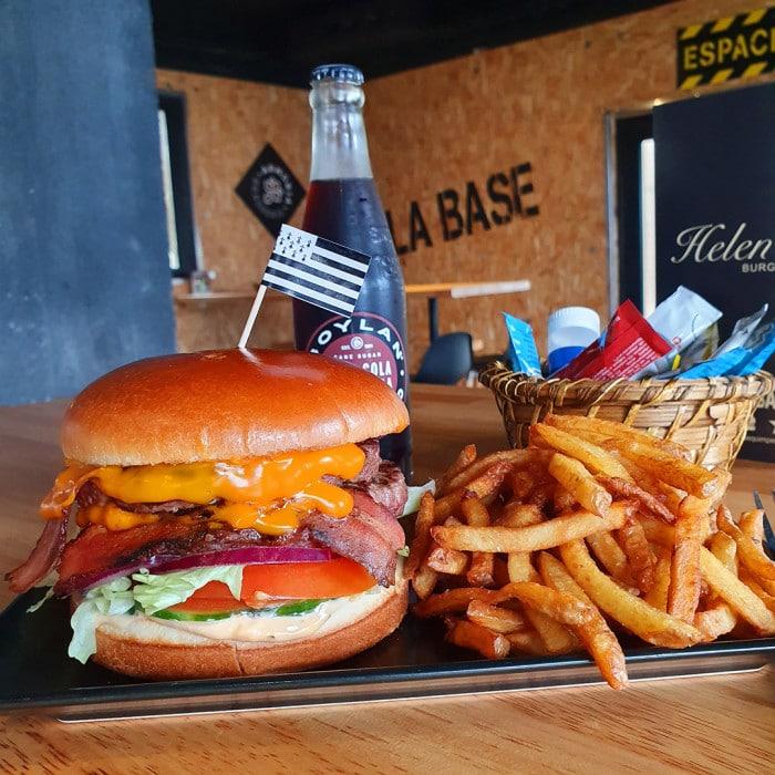 Formule burger + frites